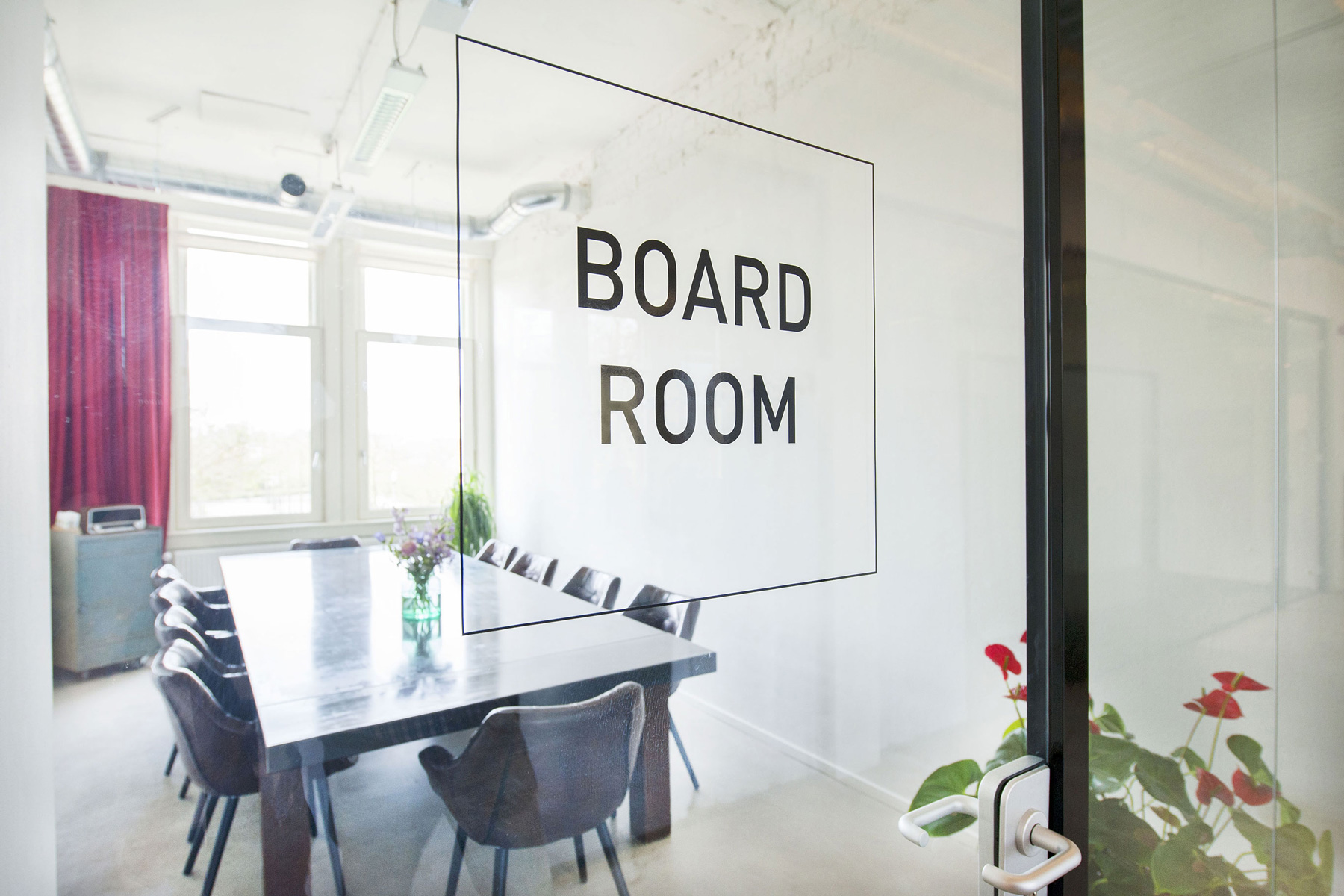 glass transparent board room fostering collaboration impact hub westerpark amsterdam