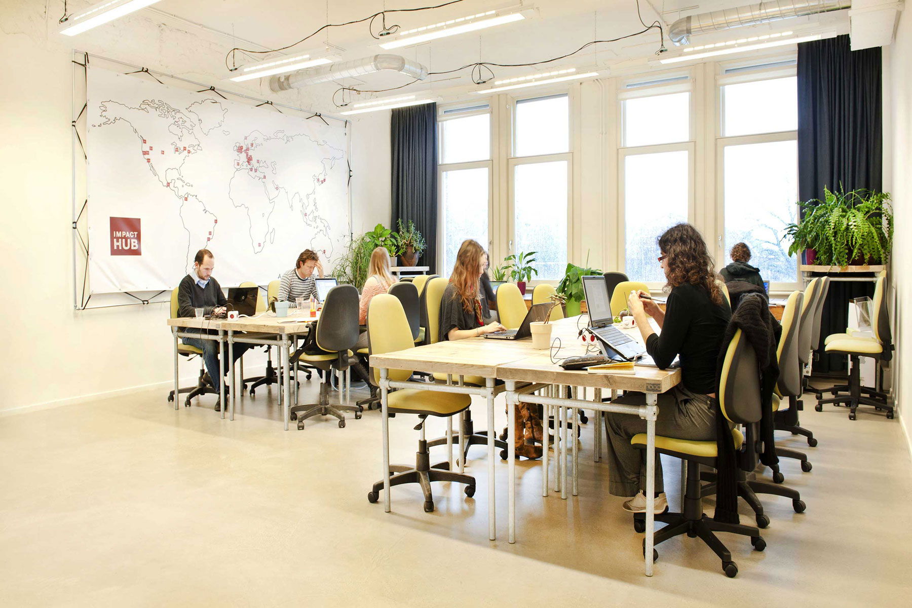 Impact Hub Westerpark | Coworking Space - AKKA Architects