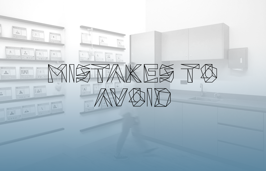 Mistakes to avoid for you workplace design